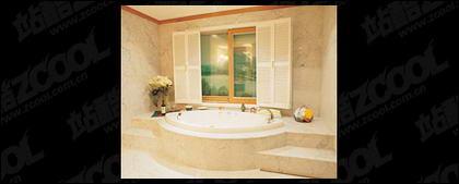 バスルーム環境品質画像素材