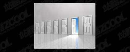 Material de imagen de calidad de puerta