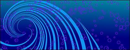 Matériau de vecteur dynamique de points et de lignes