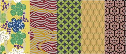 Texture 9 traditionnel de vecteur série picturale traditionnelle