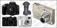 Цифровые фотоаппараты векторного материала