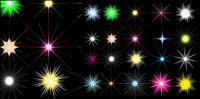 Звезды светлый цвет векторного материала