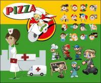 Несколько ролей персонажей мультфильма