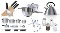 Кухня векторного материала