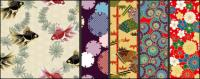Японский стиль узор фона