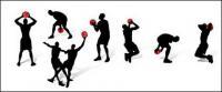 Баскетбол действий цифры в картинках