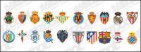 Испанский футбол клубы логотип