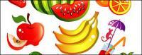 Вектор мультфильмов стиль фрукты