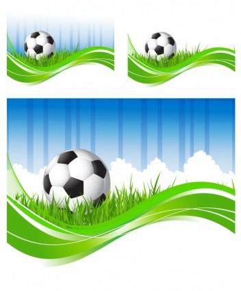 ลูก พื้นหลัง เวกเตอร์ ลูกฟุตบอล เขียว ฟุตบอลโลก กีฬา