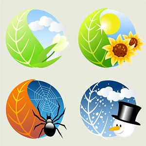 Eps Format Stichwort Vector Icon Verlsst Spider Schneemann Sonne Sonnenblume Wolken Free