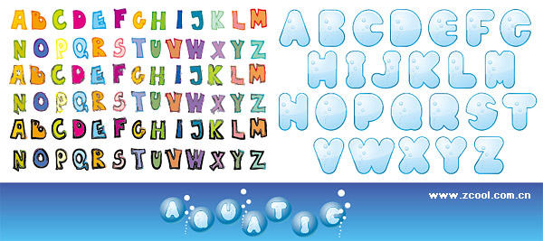 Free Cute Alphabet Letters