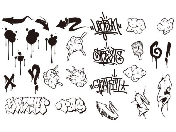 Como dibujar un Graffiti paso a paso - ( Dibujos animados