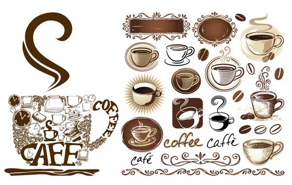 Patrones de encaje de palabras clave caf caf cafetera for Decoracion con tazas de cafe