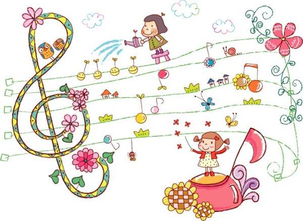 Schlsselwort Niedliche Kleine Mdchen Kind Lesen Sie Musik