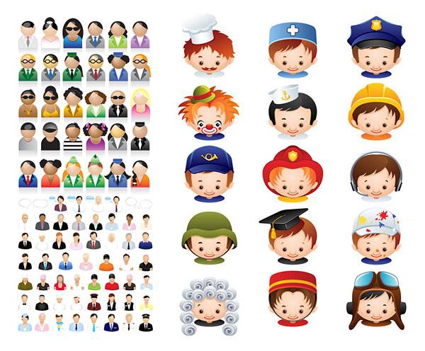 Cartoon Characters Jobs : 키워드 경력 문자 요리사 간호사 광대 건설 근로자 교사 변호사 박사 학위를 조종사