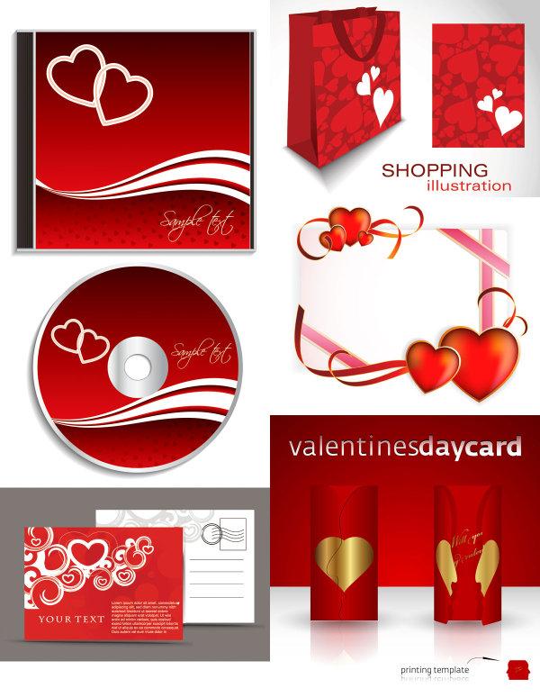 Schlsselelemente der romantischen valentinstag heart - Album para san valentin ...