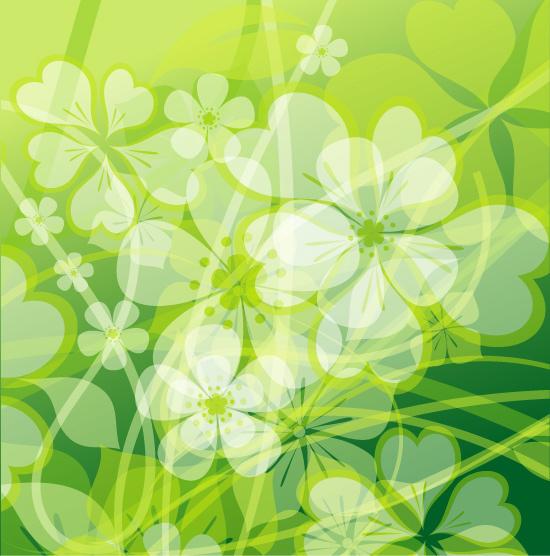 Flores verdes animadas - Imagui