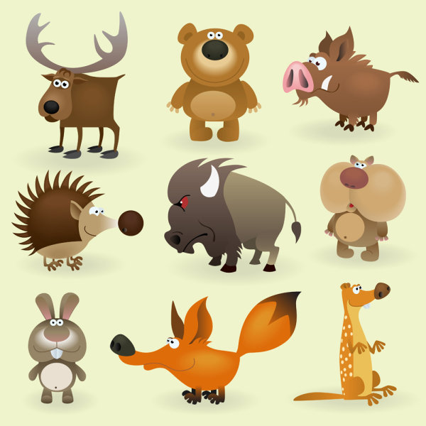 Kata Kunci Kartun Hewan Gambar Beruang Babi Hutan Kelinci