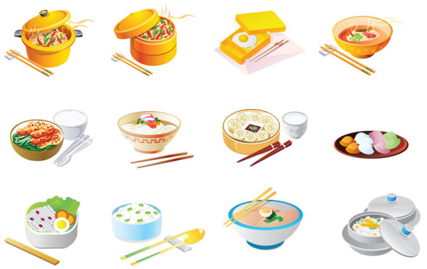 Dibujos Animados Icono De Alimentos Vector Free Download