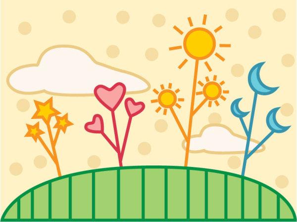 Flores Y Corazones Caricaturas Imagenes