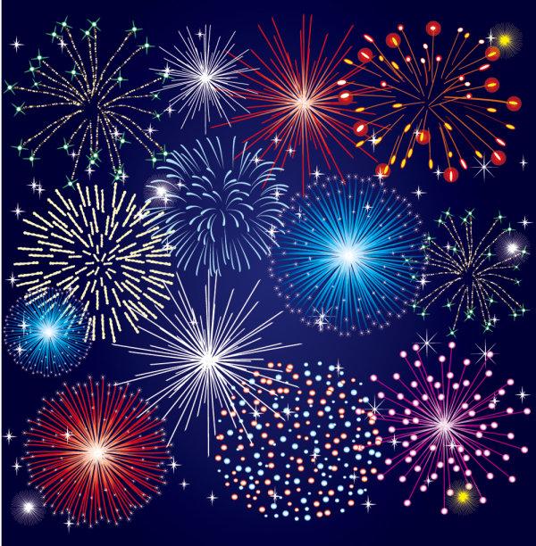 Palabras Clave Hermosas Coloridas Fireworks Bloom Festival