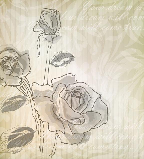 Palabras clave: elegantes, rosas, patrones, fondos, líneas, sombreado ...