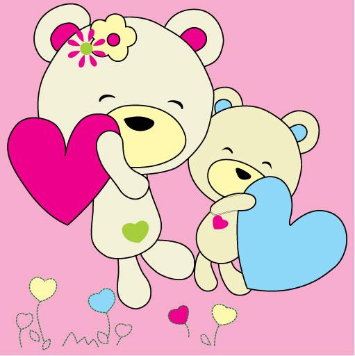 Klíčová slova kreslené roztomilý hračky zvířata medvídek