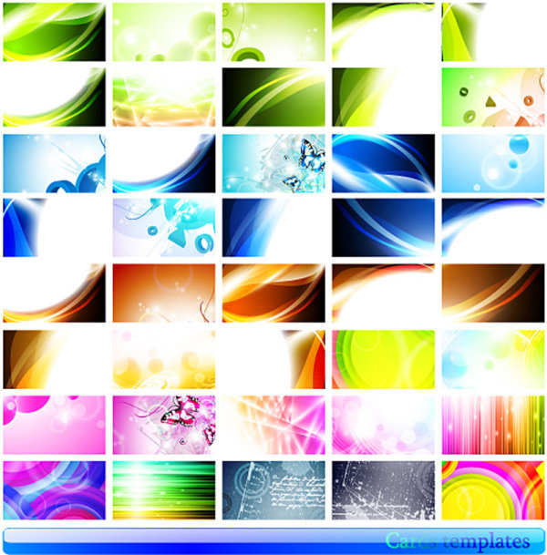 2200da34597b2 La tarjeta hermosa hermosa 01 - material de vectores