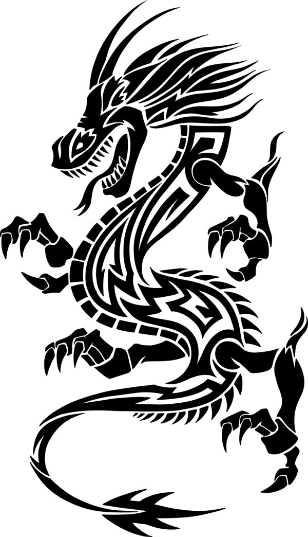 Free vector black vector dragon illustration download thousands of free vectors artblack vector dragon, black vector
