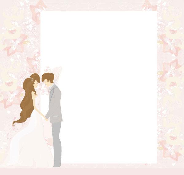 Kata Kunci Pernikahan Kartu Pos Cinta Shading Tekstur Bahan