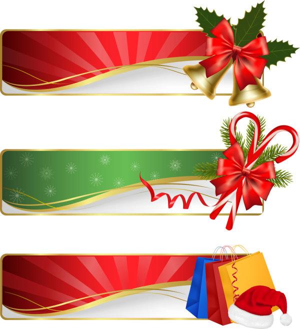 Palabras clave navidad elegante regalo cinta vector - Cinta de navidad ...