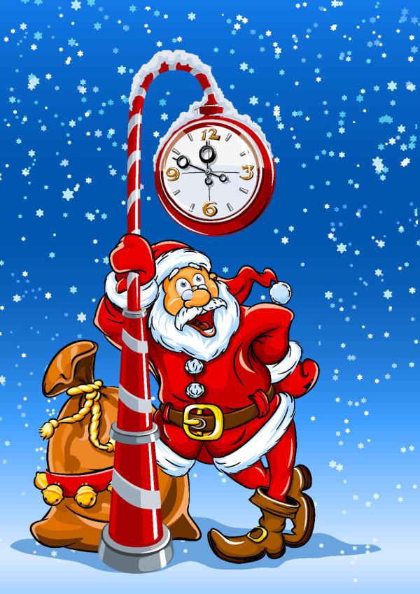 Stichwrter: cartoon, Santa Claus, Illustrator, Niedlich ...: http://de.hereisfree.com/materials/download/10725.html