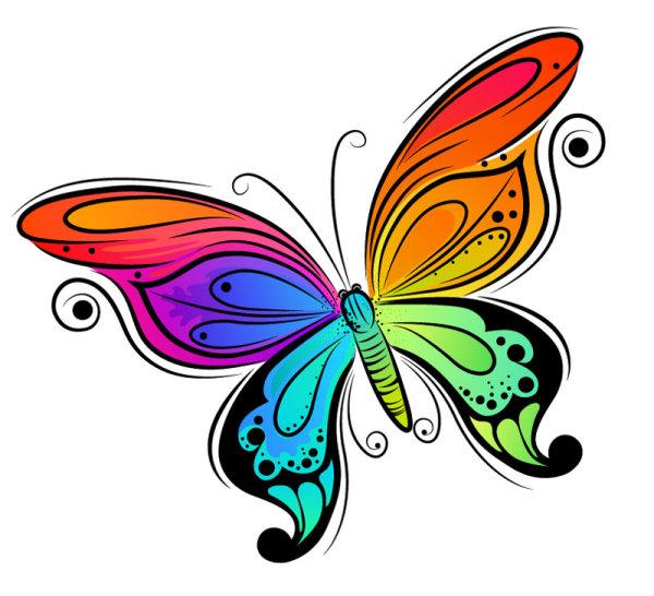 Palabras clave: Bright, ilustraciones coloridas, pintadas a mano ...