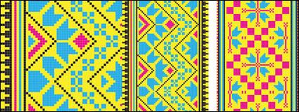 Pixel pattern 02-- vector material