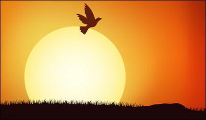 pin house cartoon sunset - photo #31