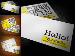 Elegantes Business-Card-PSD geschichtet Materialien